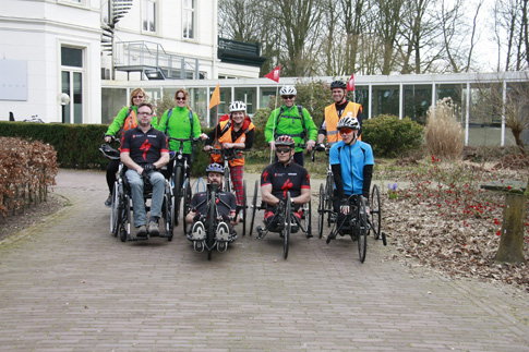 Posbank test conditie handbikers