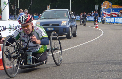 Ontknoping Nationale Handbike Competitie 2013